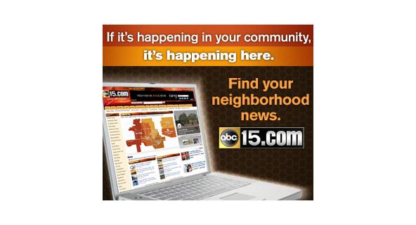 ABC15 Community News web banner ad