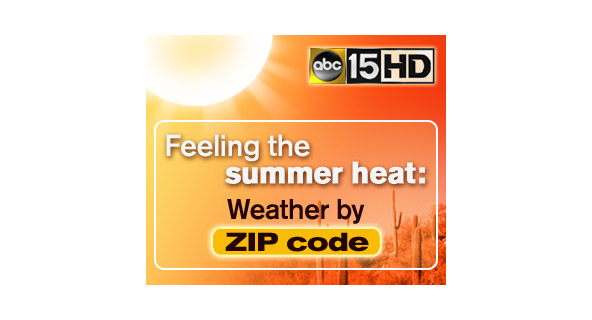 ABC15 Weather Heat web banner ad