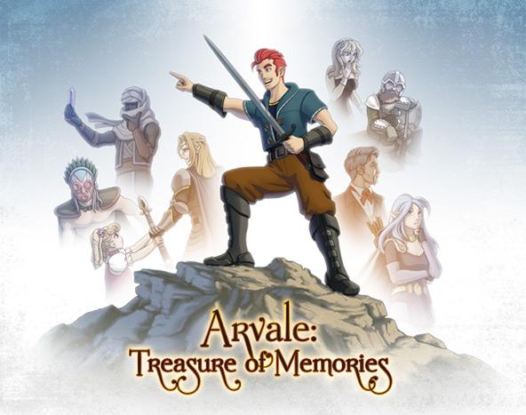 Arvale Bundle title screen art