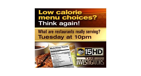 Investigators Calories web banner ad