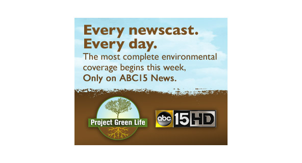 Project Green Life Coverage web banner ad