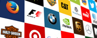 Famous Company Brand Logos Thumbnail